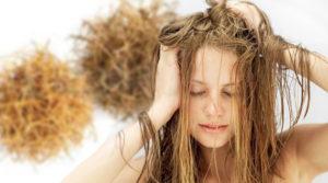 Рецепты масок для сожженных волос